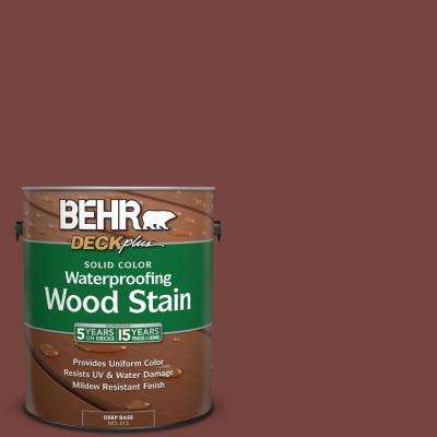 1 gal. #S190-7 Toasted Pecan Solid Color Waterproofing Wood Stain