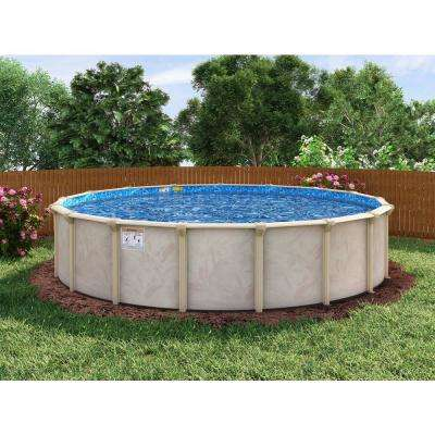 Floridian Round Pool Package 48 in. D