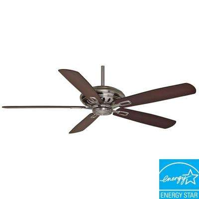 Holliston DC 60 in. Brushed Nickel Ceiling Fan-DISCONTINUED