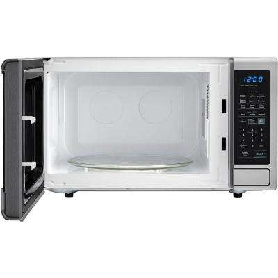 Carousel 1.8 cu. ft. Countertop Microwave in Stainless Steel with Sensor Cooking Technology