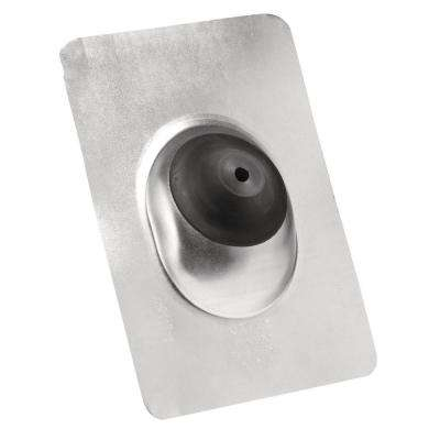 12-1/2 in. x 8-3/4 in. Galvanized Steel Base Roof Flashing