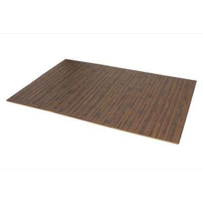 Walnut Printed Wood Grain 24 in. x 24 in. x 3/8 in. Interlocking EVA Foam Flooring Mat (24 sq. ft. / pack)