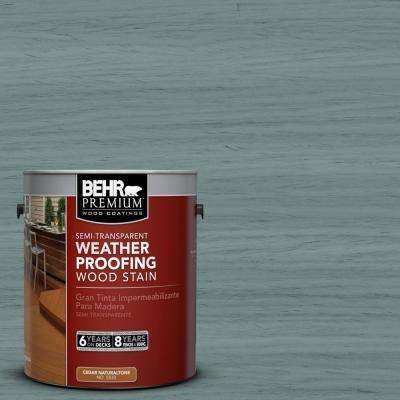 1-gal. #ST-119 Colony Blue Semi-Transparent Weatherproofing Wood Stain