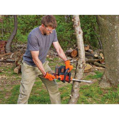 12 in. 40-Volt MAX Lithium-Ion Cordless Chainsaw w/ (1) 2.0 Ah Battery and Charger