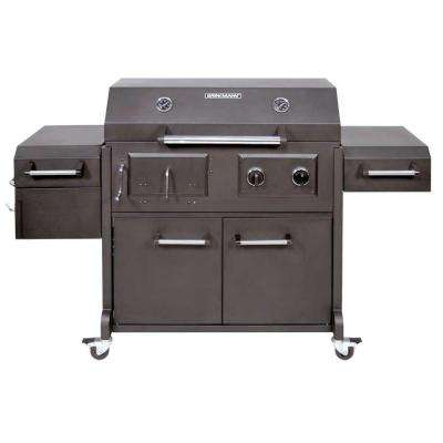 gas charcoal combo grills gas grills the home depot. Black Bedroom Furniture Sets. Home Design Ideas
