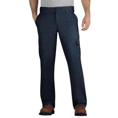 0ebba44c0b1 Men s Dark Navy Flex Regular Fit Straight Leg Cargo Pant