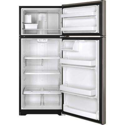 17.5 cu. ft. Top Freezer Refrigerator in Silver, ENERGY STAR