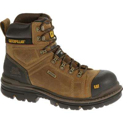 Hauler Men's Dark Beige Composite Toe Waterproof Boots