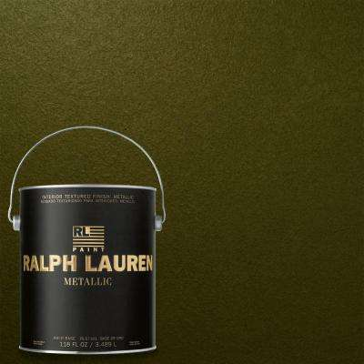 1-gal. Polo Field Gold Metallic Specialty Finish Interior Paint