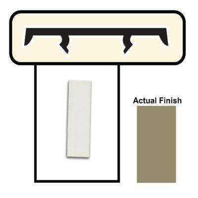 1-1/2 in. Brown Porch Screening System Cap