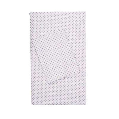 Swiss Dot Cotton Percale Flat Sheet