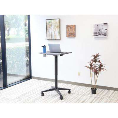 Diversa Black Height Adjustable Sit and Stand Desk