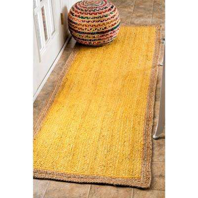 Eleonora Yellow 3 ft. x 8 ft. Runner Rug