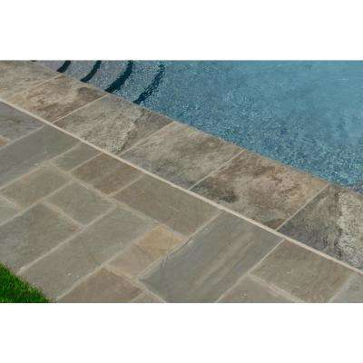 16 in. x 24 in. Silver Tumbled Travertine Pool Coping (10-Piece - 26.7 sq. ft. / Pallet)