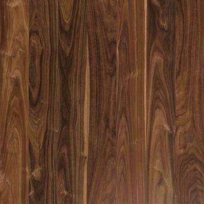 Deep Espresso Walnut 8 mm Thick x 4-7/8 in. Wide x 47-1/4 in. Length Laminate Flooring (19.13 sq. ft. / case)