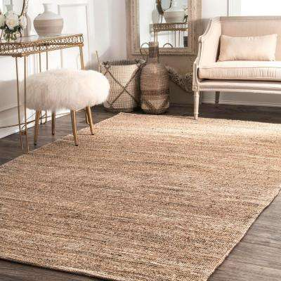 Emery Natural 6 ft. x 6 ft. Round Area Rug