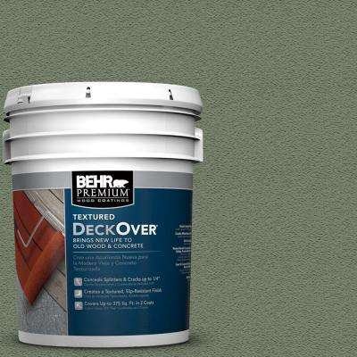 5-gal. #SC-126 Woodland Green Wood and Concrete Coating
