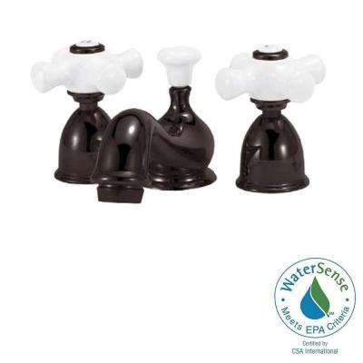 Bradsford 4 in. Minispread 2-Handle Mid-Arc Bathroom Faucet in Oil Rubbed Bronze