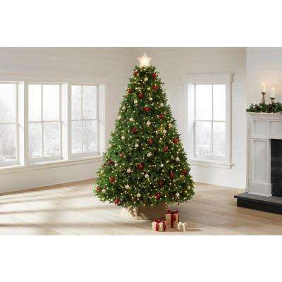 7.5 ft Lachlan Balsam Fir LED Pre-Lit Artificial Christmas Tree with 1400 Color Changing Lights