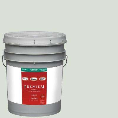 5-gal. #HDGCN15 Oriental Ivory Semi-Gloss Latex Interior Paint with Primer