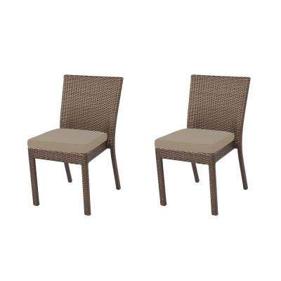 Hampton Bay Outdoor Dining Chairs Patio Chairs Patio Furniture The Home Depot