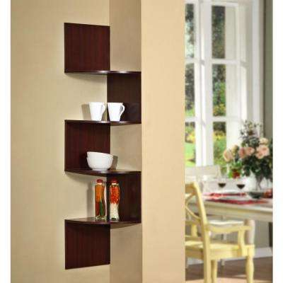 Hanging Wall Corner Shelf Storage
