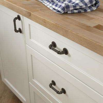 3 in. (76 mm) Warm Chestnut Industrial Cabinet Pull
