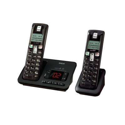 DECT 6.0 Cordless Digital Phone with 2-Handsets and ITAD