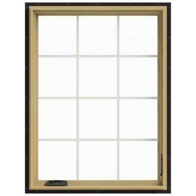 36 in. x 48 in. W-2500 Right Hand Casement Aluminum Clad Wood Window
