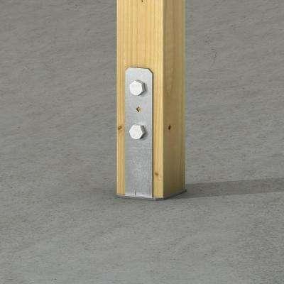 CB Galvanized Column Base for 4x4 Nominal Lumber