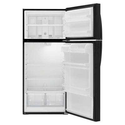 16 cu. ft. Top Freezer Refrigerator in Black