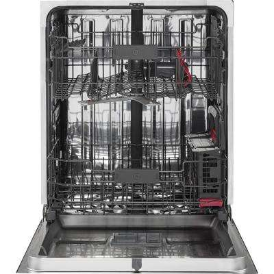Cafe Top Control Dishwasher in Black Slate with Stainless Steel Tub, Fingerprint Resistant