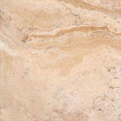 Philadelphia 12 in. x 12 in. Honed Travertine Floor and Wall Tile (10 sq. ft. / case)