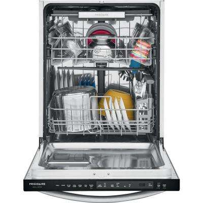 Top Control Built-In Tall Tub Dishwasher in Smudge-Proof Stainless Steel with Stainless Steel Tub and 3rd Rack