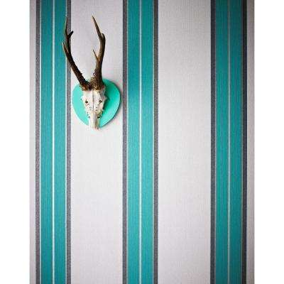 Harlow Teal Removable Wallpaper