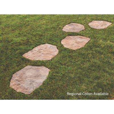 Portage 21 in. x 15.5 in. x 1.75 in. Sand/Tan Irregular Concrete Step Stone (90 Pieces / 134 sq. ft. / Pallet)
