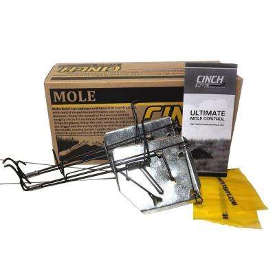 CINCH Traps 3 inch Large Mole Kit