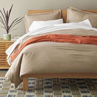 Solid Flannel Duvet Cover