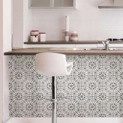 10 in. x 10 in. Catalan Peel and Stick Backsplash Tiles