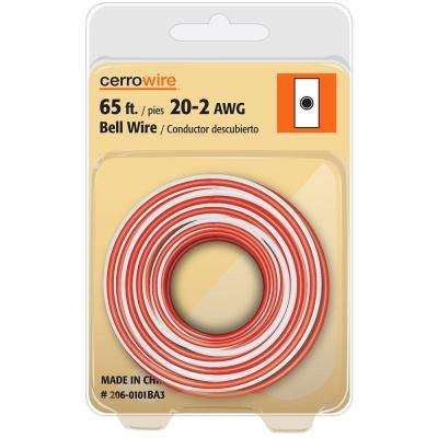 65 ft. 20/2 Solid Bell Wire