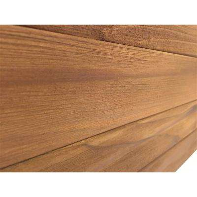 3D Whole Wood 28 in. x 11 in. Reclaimed Wood Decorative Wall Panel in Brown Color (10-Pack)