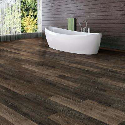 Khaki Oak Dark 6 in. W x 36 in. L Luxury Vinyl Plank Flooring (24 sq. ft. / case)