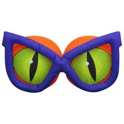 72.05 in. W x 29.92 in. D x 38.19 in H Inflatable Kaleidoscope Evil Eyes (GGO)