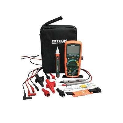 Heavy Duty Industrial Multimeter Kit