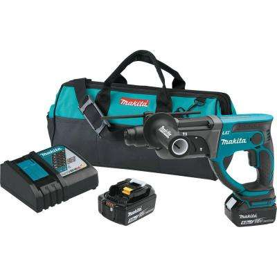 18-Volt 5.0Ah LXT Lithium-Ion Cordless 7/8 in. Rotary Hammer Kit