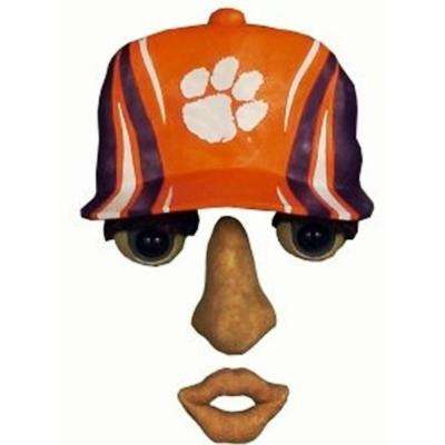 14 in. x 7 in. Forest Face Clemson University