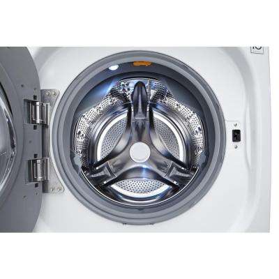 4.5 cu. ft. High-Efficiency Front Load Washer with Steam and TurboWash in White, ENERGY STAR