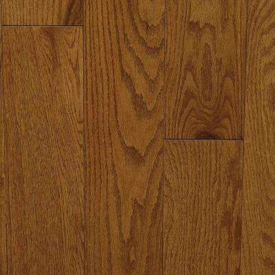 Oak Antique Gunstock 3/4 in. Thick x 5 in. Wide x Random Length Solid Hardwood Flooring (20 sq. ft. / case)