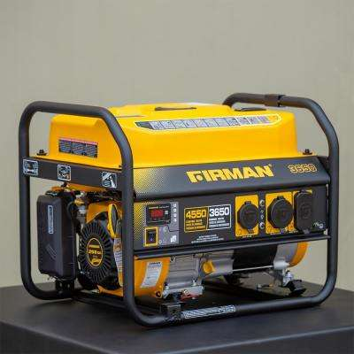 4550/3650-Watt Recoil Start Gas Portable Generator CARB Certified