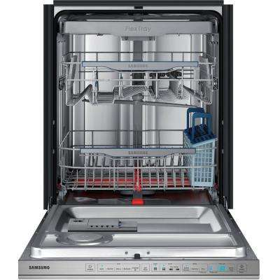 CHEF Collection Top Control Dishwasher in Stainless Steel with Stainless Steel Tub and WaterWall Wash